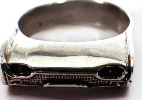 1932 Deuce Roadster Ring Wrap  Size 11US - AUS V1/2