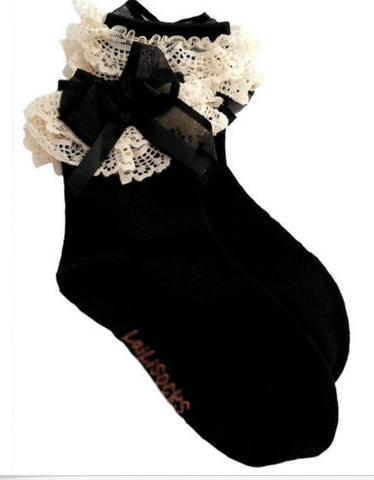 Girls Polka Dot  Stockings - Limited Sizes Left