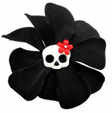 Rose Skull Hair Pin - Wicked Rockabilly & Gifts - 1