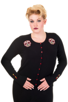 Romantics Cardigan Black