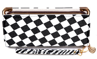 Checker Board Wallet - Wicked Rockabilly & Gifts