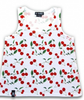 Girls Cherry Tank Top - Wicked Rockabilly & Gifts - 1