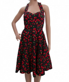 Polka Dots & Cherry Swing Dress - Wicked Rockabilly & Gifts - 1