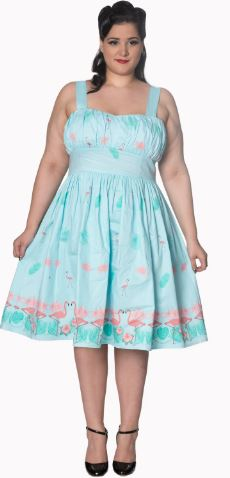Going My Way Halter Swing Dress and  plus sizes available