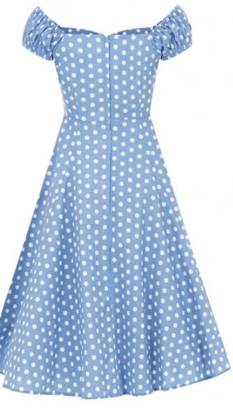 Dolores Vintage Polka Dot Dress -  BE QUICK ANOTHER BEST SELLER NEARLY GONE!!