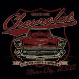 GM Motor City Chevrolet Gals T - Wicked Rockabilly & Gifts - 2