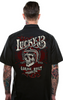 Skull Built Mens Work Shirt - Wicked Rockabilly & Gifts - 1