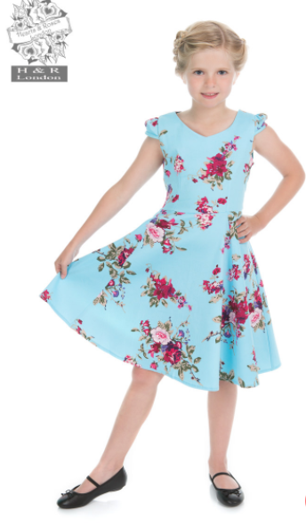 Girls Blue Ballet Dress