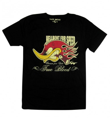 Hell Bent for Speed Mens Tshirt - Wicked Rockabilly & Gifts - 1