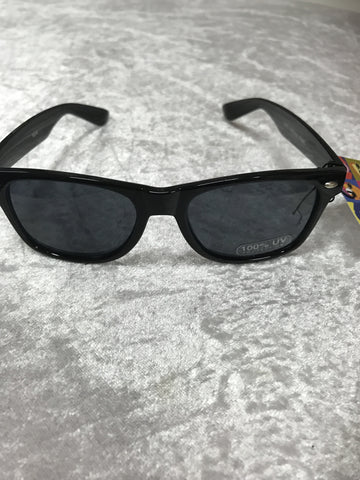 7483F Mens Grey Black Retro Fashion Sunglasses