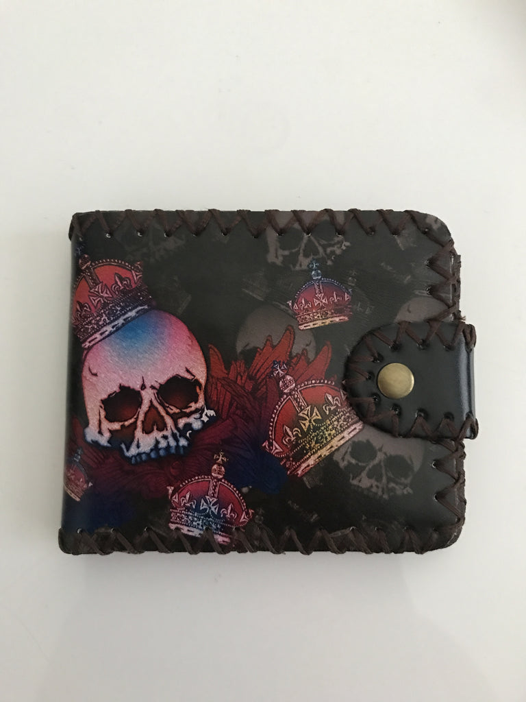Skull King Rockabilly Wallet