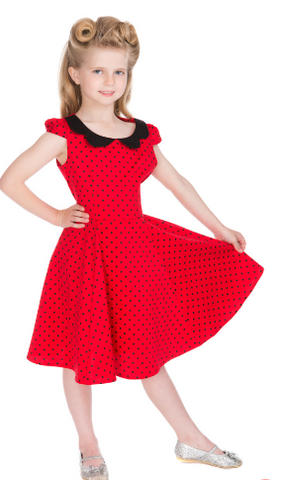 Girls butterfly swing dress