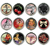 Compact Mirrors Retro - Wicked Rockabilly & Gifts - 1