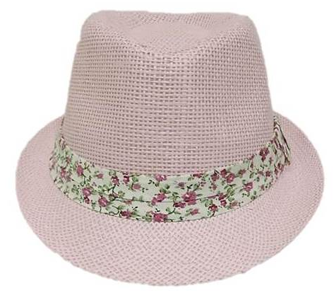 Girls Fedora Pink - Wicked Rockabilly & Gifts