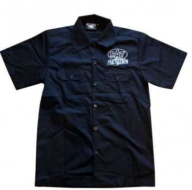 RAT Embroidered Work Shirt