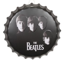 The Beatles  3D Bottle Cap Plaque - Wicked Rockabilly & Gifts - 1