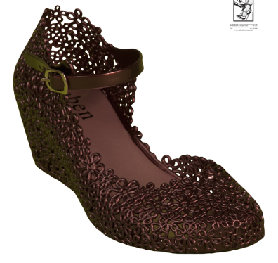 Wedge One Bronze or Silver - Wicked Rockabilly & Gifts - 1