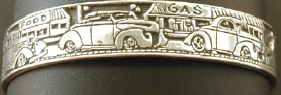 1953 Buick Roadmasters Car ring    Size 13 US - AUS Z3/4