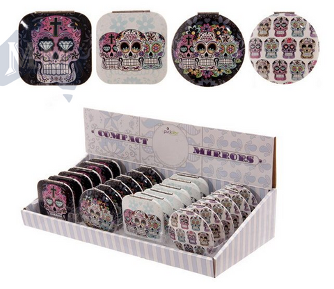 Day of the Dead Candy Skull Keyring