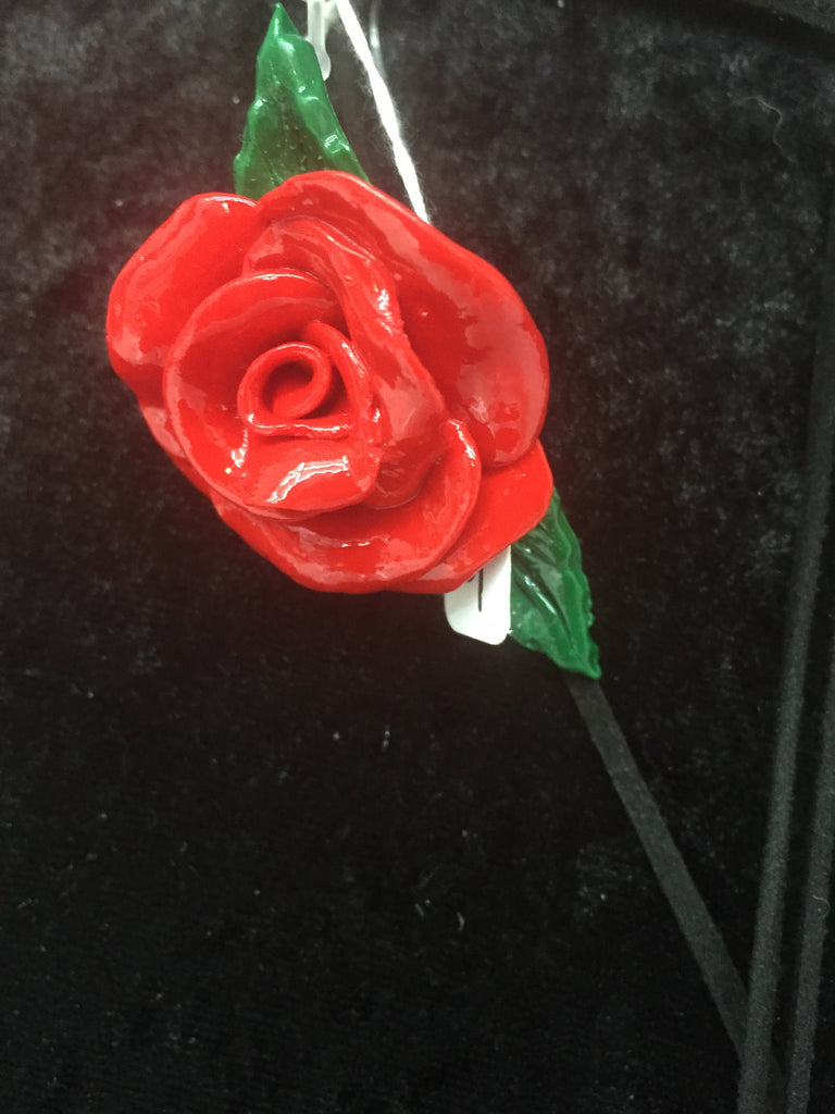 Rose Brooch - Wicked Rockabilly & Gifts - 1