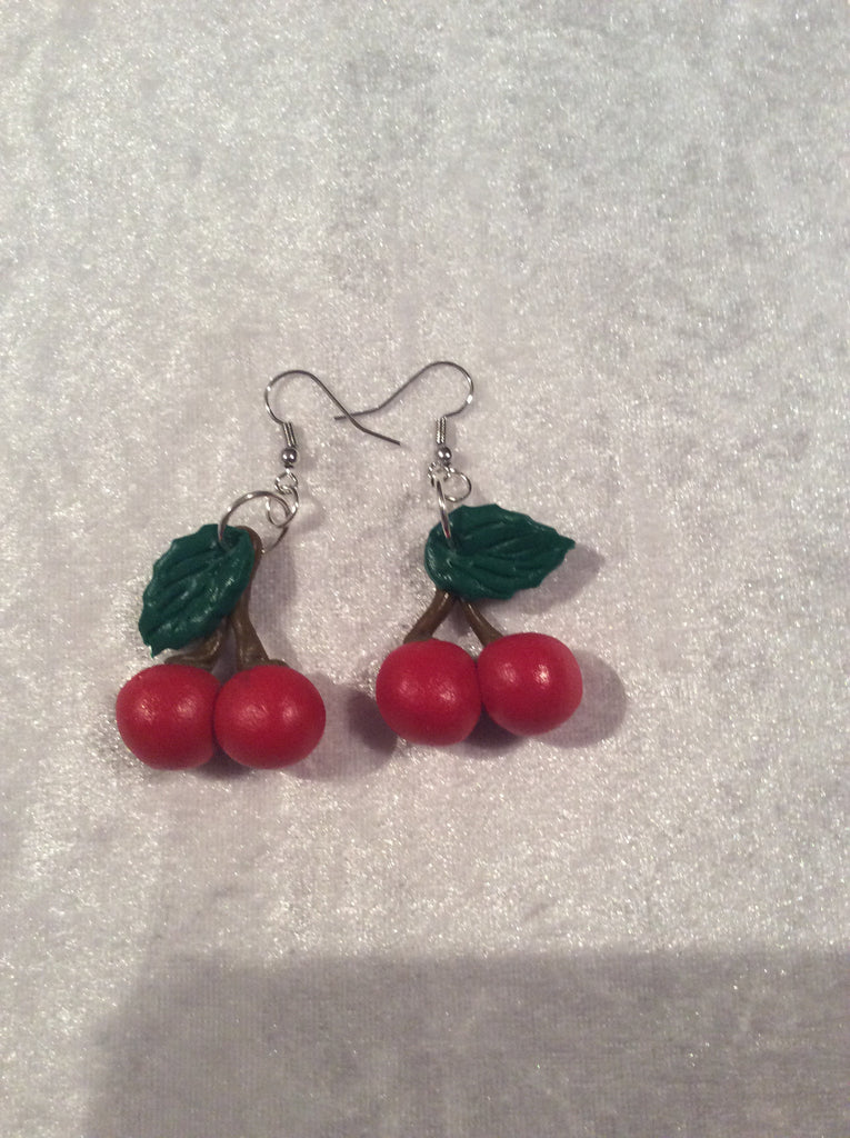 Cherry Earrings - Wicked Rockabilly & Gifts