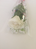Roses Open/Bud Red or White  Long Stem , Scented gift - Wicked Rockabilly & Gifts - 2