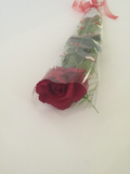 Roses Open/Bud Red or White  Long Stem , Scented gift - Wicked Rockabilly & Gifts - 1