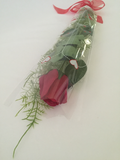 Roses Open/Bud Red or White  Long Stem , Scented gift - Wicked Rockabilly & Gifts - 3