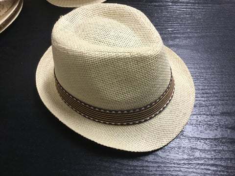Girls Fedora Cream