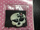 Skull Retro  Brooch