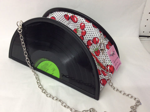Floozy Purse Polka Dot Pink/White