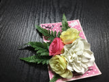 Large Floral Leaf  Hair Accessory  - Assorted Colours/Designs