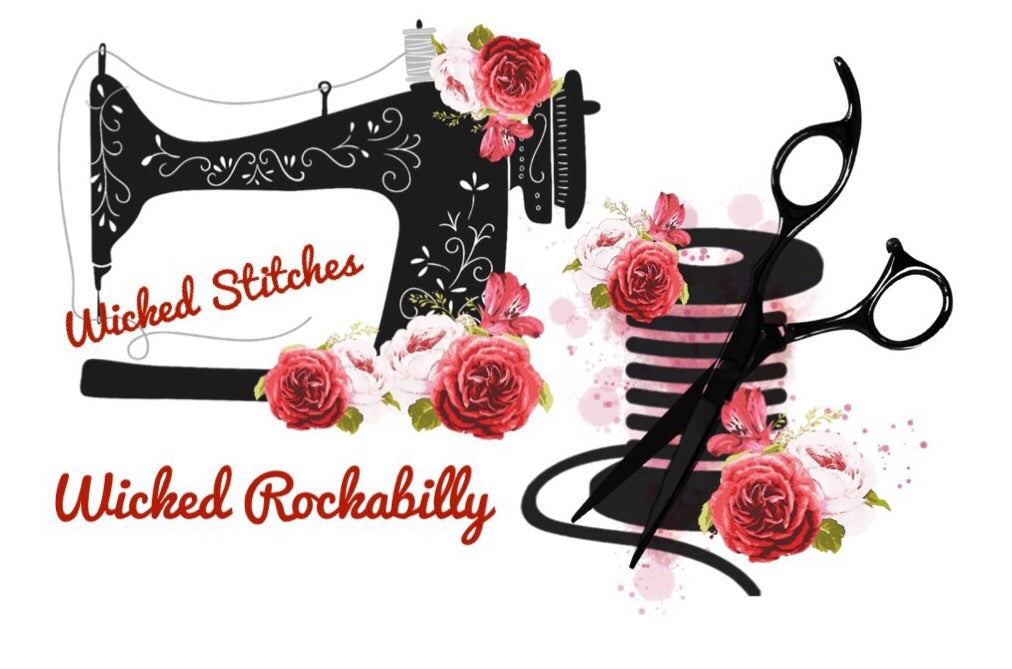 Ladies Rockabilly Red Top