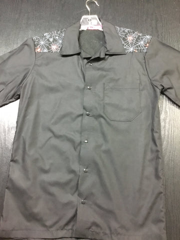 Skulls & Roses Mens Work Shirt