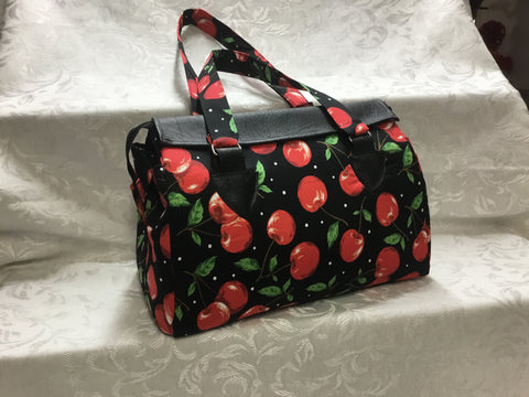 Blair Flamingo Polka Dot Bag