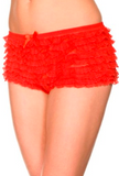 Mesh Ruffled Lace Tanga Shorts ML115 - Wicked Rockabilly & Gifts - 2