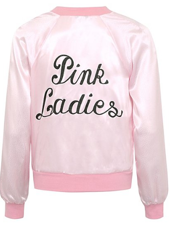 Pink Ladies Bomber Jacket