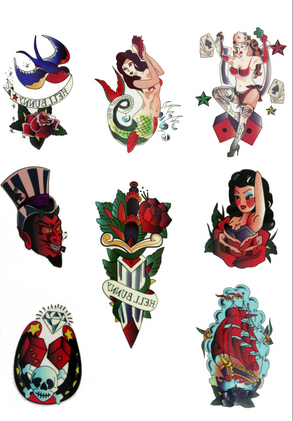 Retro Tattoo's - Wicked Rockabilly & Gifts