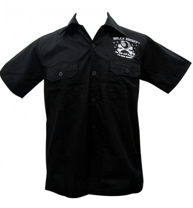 The Main Thing Embroidered Mens Work Shirt - Wicked Rockabilly & Gifts - 2