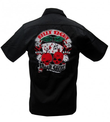 Older & Wiser Embroidered Mens Work Shirt