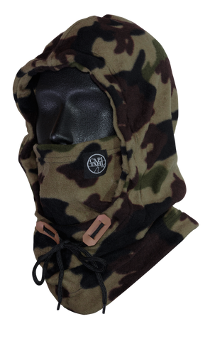 Hooded Neck Warmer - Camo