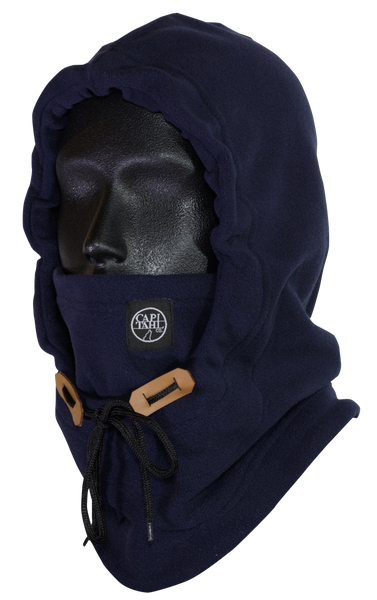 Hooded Neck Warmer - Navy