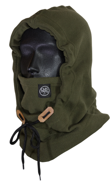 Hooded Neck Warmer - Olive Drabb
