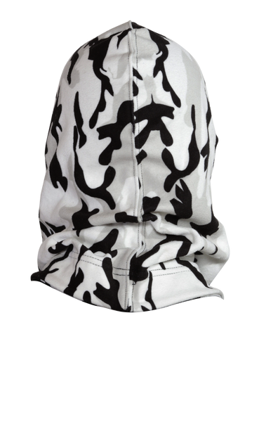 Hooded Neck Warmer - Snow Camo