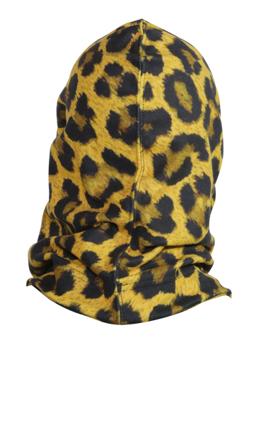 Hooded Neck Warmer - Leopard