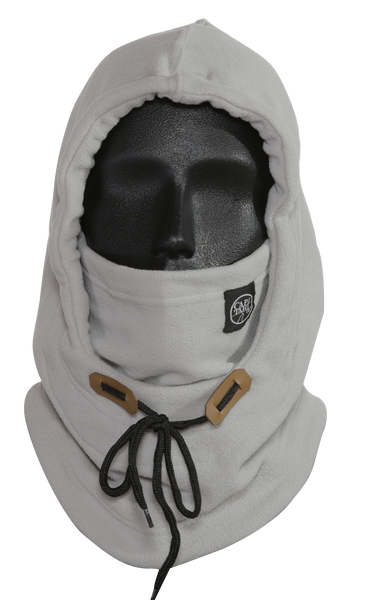 Hooded Neck Warmer - Grey
