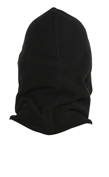 Hooded Neck Warmer - Black