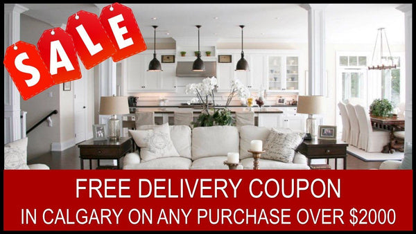 ONE FREE DELIVERY SERVICE COUPON IN CALGARY