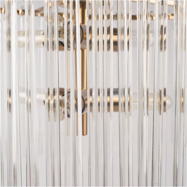 Elsa Chandelier (Brass) | Calgary's Furniture Store