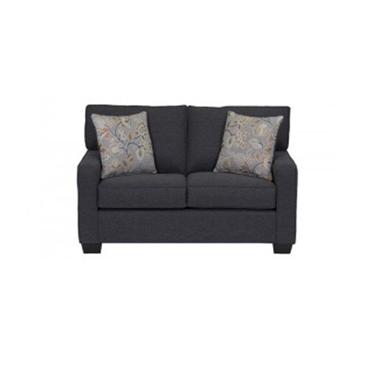 DYNASTY CUSTOM LOVESEAT. MADE IN CANADA. CHOOSE YOUR FABRIC SAMPLE - Showhome Furniture